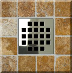 Square Shower Drain| Ebbe Unique Series Of High End Square Drains Feature  An Amazing