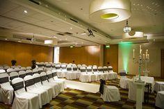 Civil Ceremony #mcr #marriott #manchester #mcrmarriottva The V&a, Civil Ceremony, Manchester, Conference Room, Weddings, Table, Furniture, Home Decor, Homemade Home Decor