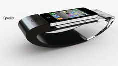 The Stander iPhone Dock is a Rocking Phone Cradle #phonestands trendhunter.com