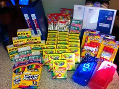 save $50 on school supplies