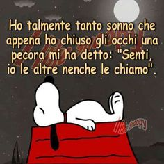 145 Immagini e stati divertenti per Whatsapp | WhatsApp Web - Whatsappare Favorite Quotes, Best Quotes, Funny Quotes, Italian Humor, Snoopy Quotes, Snoopy And Woodstock, Magic Words, Good Morning Good Night, Vignettes