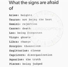 I'm not afraid of change I actually welcome it. Kinda of the whole Libra balance thing. Change is necessary to that balance. Now clowns I fear cause they're creepy to me and always have been.