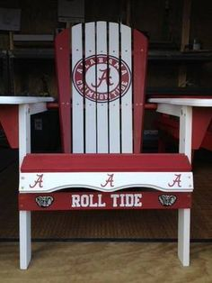 Something awesome to sit in while waiting for BAMA football!  More grat Alabama Pictures at http://TidePics.com Roll Tide, y'all!