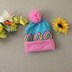 og OF Beanie 🍩 • blue and pink Odd Future - Depop  26 Odd Future 6e9048cebf73