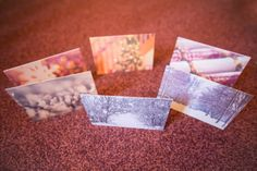 PACK OF 6 CHRISTMAS CARDS