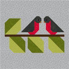 Ideas for bird pattern sewing paper piecing Barn Quilt Designs, Barn Quilt Patterns, Paper Piecing Patterns, Patchwork Patterns, Bird Patterns, Pattern Blocks, Quilting Designs, Pattern Sewing, Bird Quilt Blocks