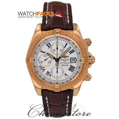 Take this gold case #breitling with you on you to close the deal.  Certified #preowned by WatchFacts, find this at Chronostore, a WatchFacts trusted dealer!