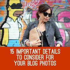 Don't let Homer Simpson ruin your outfit photos.... #blog #photography #blogtips