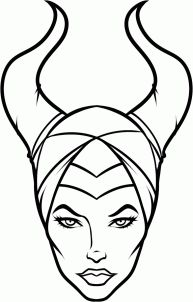 How to Draw Angelina Jolie's Maleficent