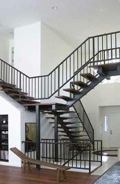 Monostringer stair 7
