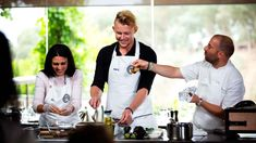 George takes on a viewer's choice recipe request that will warm your heart Masterchef Recipes, Musaka, Masterchef Australia, Onion Chicken, Sliced Potatoes, Winter Warmers, Master Class, Casserole Dishes, Lamb