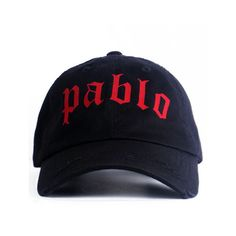 Nerdy Fresh Pablo Dad hat black ( 28) ❤ liked on Polyvore featuring men s  fashion 3878dcf268d9
