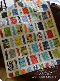 Ruby Blue Quilting Studio: New Quilts: Aura & Tiny Bits