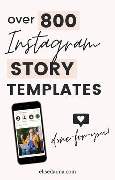The Instagram Story Vault gives you over 800 ideas for your Instagram stories. Save your time and energy trying to come up with story ideas with these prompts that will help increase your engagement and sales with Instagram. Grab your templates today!