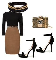 """""""WORK IT"""" by cole222 on Polyvore featuring Phase Eight, Wild Diva, Vita Fede and GEDEBE"""
