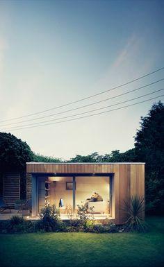 Ecospace studios France, Fabricant de la pièce qui vous manquait dans votre jardin, pièce pour jardin, bureau pour jardin, chambre pour jardin