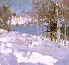 March snow by Bato Dugarzhapov
