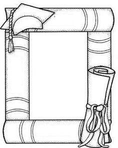 ESPAÇO EDUCAR: Mais desenhos, riscos e moldes de formatura para pintar, colorir, imprimir - diploma ou moldura de formatura - molde de formando e formanda - molde de coruja graduação e capelo