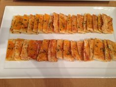 Roasted Butternut Squash Tart with Thai Chile-Infused Honey, Parmesan, & Chives