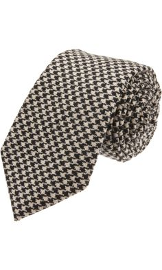 Ovadia & Sons Houndstooth Tie