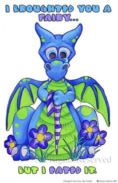Shop I Broughted You a Fairy, but I Eated it. Case-Mate iPhone Case created by LittleWingsDragons. Dragon Images, Dragon Pictures, Dragon Nursery, Iphone 5c Cases, Dragon Art, Magical Creatures, Smurfs, Fantasy Art, Whimsical