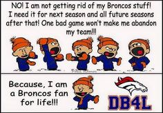 Not necessarily a Broncos fan, but a Peyton fan. Where he goes, I shall follow!!!!