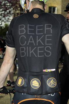 Beer Cake Bikes - Jersey