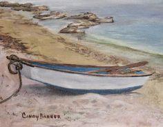"""All Ashore"",8"" x 10"",  acrylic on canvas"