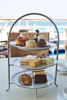 Afternoon tea at the luxury cruise ship Silver Spirit, Silversea Afternoon Tea, Adventure Travel, Stuff To Do, Cruise, Luxury, Spirit, Ship, Places, Silver