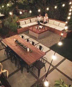 Small Backyard Gardens, Backyard Patio Designs, Small Backyard Landscaping, Landscaping Ideas, Backyard Ideas, Garden Ideas, Mulch Landscaping, Hydrangea Landscaping, Natural Landscaping