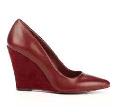 Burgundy Wedge.