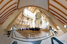 Interior Douai Abbey
