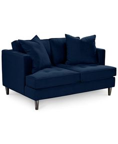 Swan Fabric Loveseat, Only at Macy's