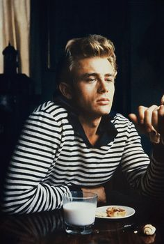James Dean photographed by Sanford Roth, 1955