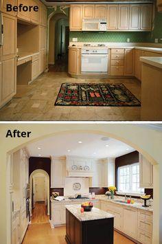 Switch hit kitchen remodel   Open kitchens, Kitchen design and Kitchens