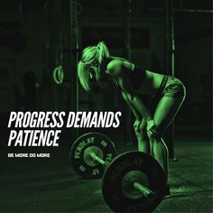 Progress demands patience. #bemoredomore #strength #gym #goals #life #fit #fitness #fitspo #fitgirl #gym #crossfit #healthy #diet #exercise #strong #motivation #inspiration #success #fatloss #run #fitlife #workout #athlete #abs #deadlift #weightloss #lifestyle #squats #health #squats #lift