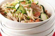 44 nej receptů s cuketami Linguine, Green Beans, Chicken, Meat, Vegetables, Food, Vegetable Recipes, Eten, Veggie Food