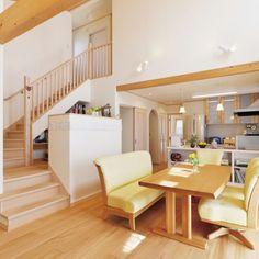 IkumiYazawaさんの、リビング,照明,ナチュラル,北欧,シンプルモダン,書斎コーナー,ナチュラルフレンチ,木の家,ふきぬけ,ホタテ漆喰,もみの木の家,しっくいの家,キャプテン書斎,のお部屋写真