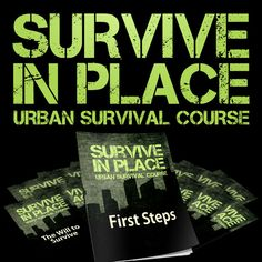 Survive In Place: Urban Survival Course! A terrific 12 part audio course that covers all sorts of terrific preparedness topics! Really enjoyed listening to this course while driving, working, shopping and more! Have listened to it repeatedly. Check it out!