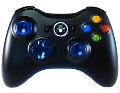 modded controllers xbox 360 mod controllers xbox 360 clear blue out