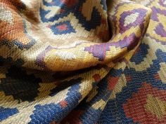 Love this fabric from Linwood, its like a thick blanket but costs over  £100 per metre