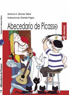 A de Amigos,B de Bodegones,C de Cubismo... Acércate a #Picasso con la poesía infantil ilustrada del abecedario de Antonio Gómez Yebra #LibreríaMPM