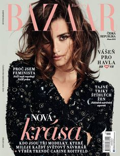 Penelope Cruz for Harper's Bazaar Czech Republic March 2016