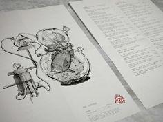精細畫 中的個性菜單 | MyDesy 淘靈感