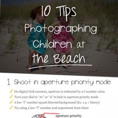 10 Tips for Photographing Children at the Beach
