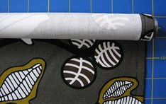 Hacer cortina roller con tela