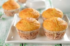 Jiffy Corn Muffin Mix Clone - An easy homemade substitute for Jiffy. Use it in any recipe calling for 1 box of corn muffin mix. Corn Muffin Mix, Corn Muffins, Cornbread Muffins, Cupcakes, Cupcake Cakes, Kefir, Mantecaditos, Sourdough Recipes, Breakfast Cake