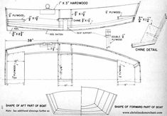 Boat Plans - pram bill of materials enlarged - Master Boat Builder with 31 Years of Experience Finally Releases Archive Of 518 Illustrated, Step-By-Step Boat Plans Wooden Sailboat, Sailboat Plans, Wooden Boats, Make A Boat, Build Your Own Boat, Diy Boat, Bill Of Materials, Flat Bottom Boats, Plywood Projects