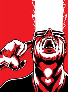 Cyclops by Weidel. I thought he was holding a phone; it made it so much better.