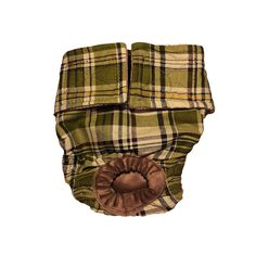 Dog Diapers - Made in USA - Green Plaid Washable Dog Diaper for Incontinence, Housetraining and Dogs in Heat *** Read more reviews of the product by visiting the link on the image. (This is an affiliate link and I receive a commission for the sales)